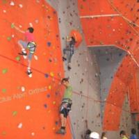 Ecole d'escalade au mur