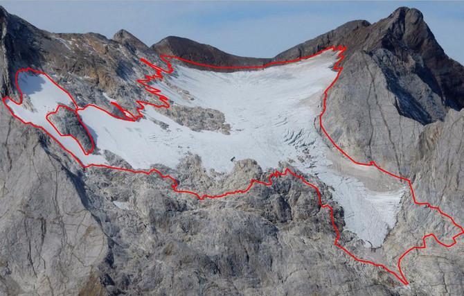 Glacier ossoue